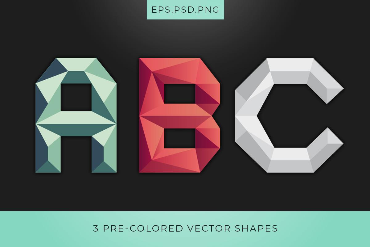 Onska Polygon Font Colors