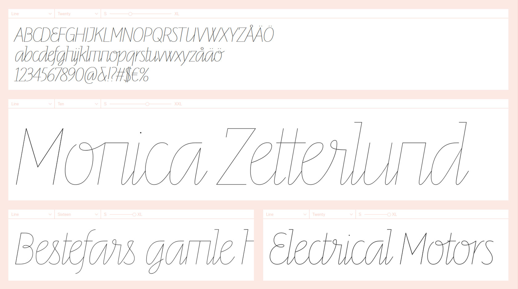 letters-from-sweden-line-font