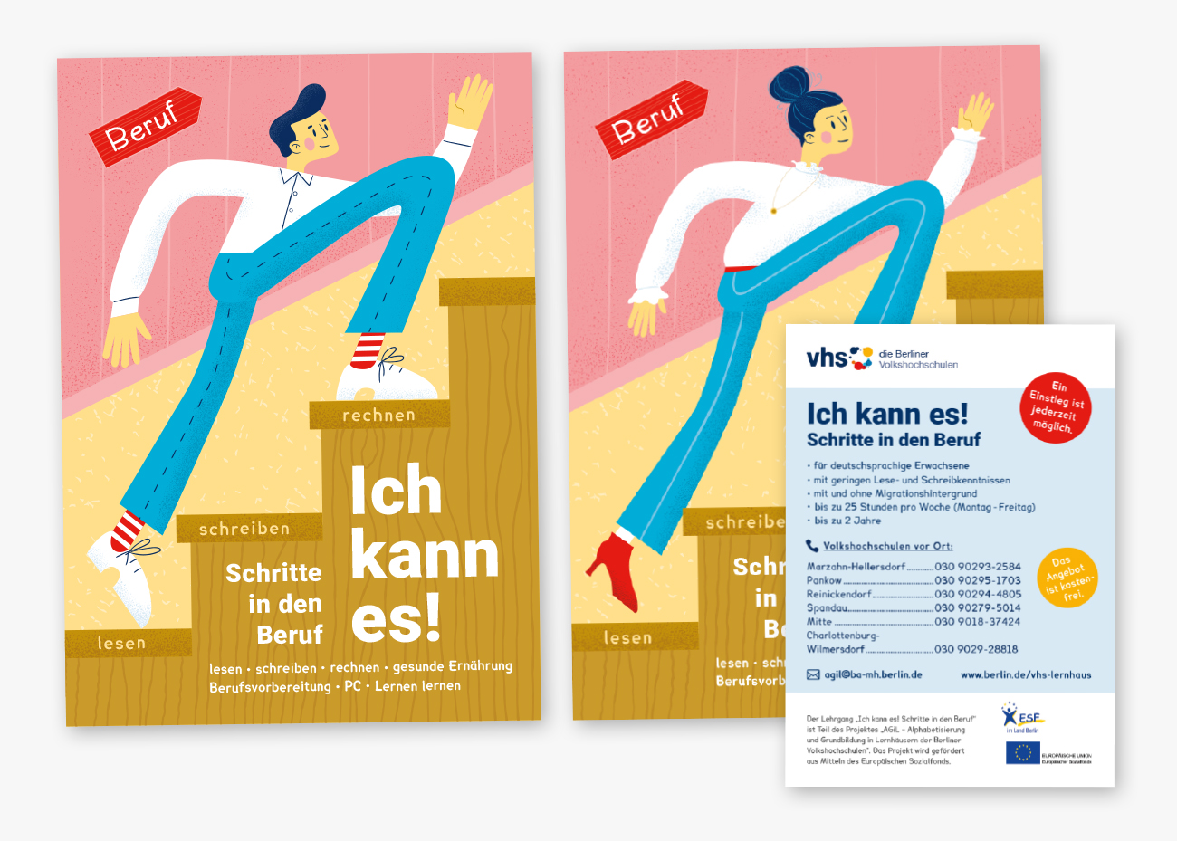 VHS-AGiL campaing flyer